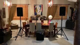 Rcf 710 mk4 alto ts212s test sound