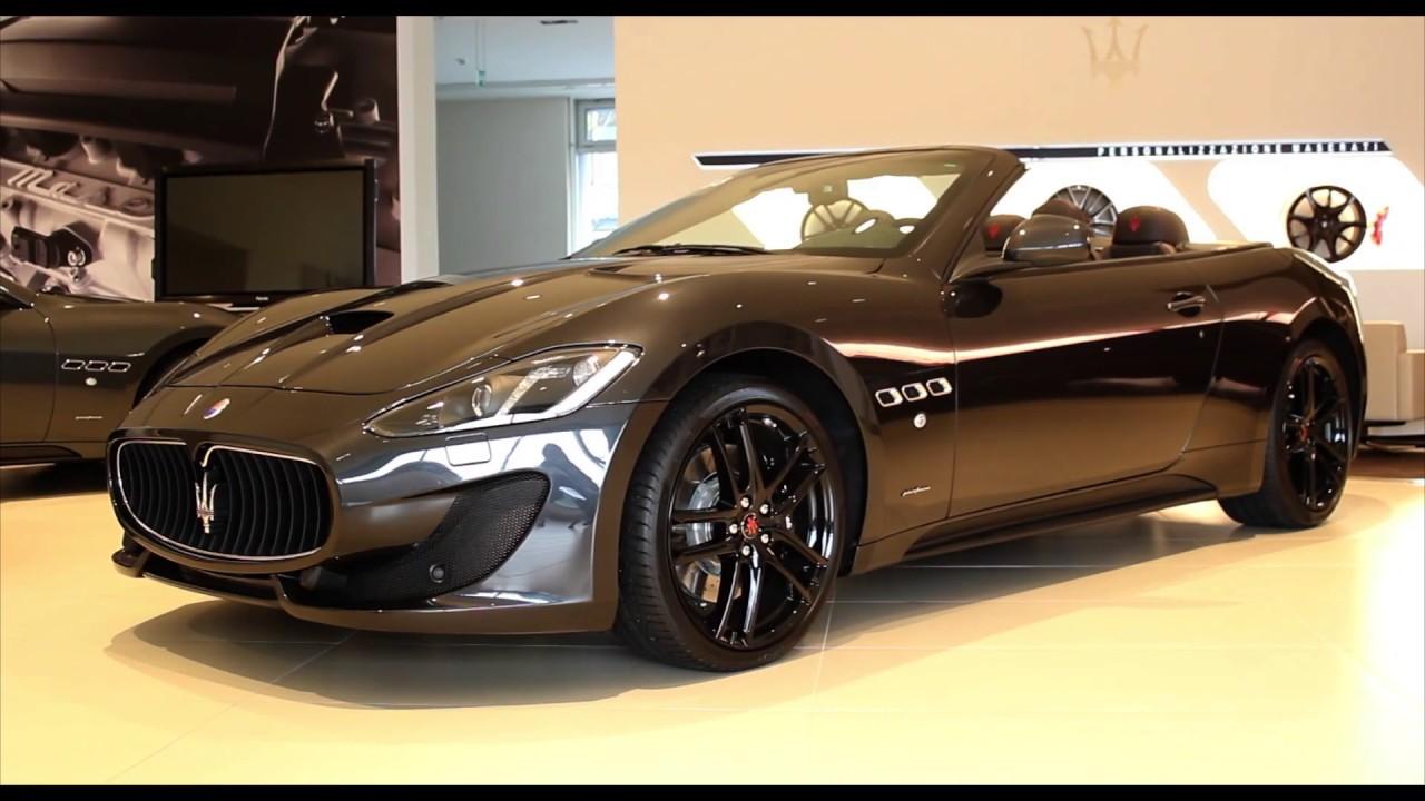 2017 maserati gran cabrio 4 7 v8 sport final edition youtube. Black Bedroom Furniture Sets. Home Design Ideas
