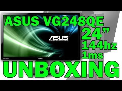 ASUS VG248QE UNBOXING