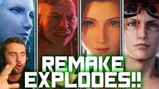 BEST FF7 REMAKE TRAILER YET! | Turks, Summons, Saucy Aerith Reaction | Final Fantasy