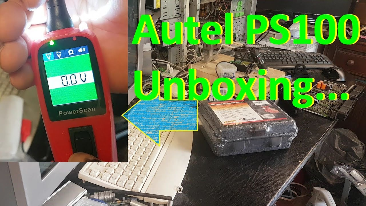 Autel PowerScan PS100 unboxing and first impressions...