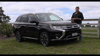 2018 Mitsubishi Outlander PHEV Plug-In Hybrid - Video Road Report