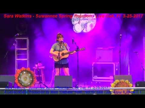 Sara Watkins - Suwannee Spring Reunion - Live Oak, Fl  3- 25- 2017