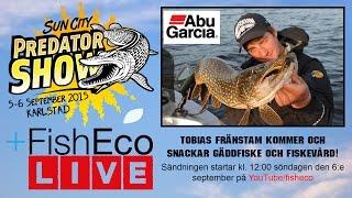 Live på Sun City Predator Show - Tobias Fränstam om gäddfiske och fiskevård!