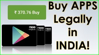 How to Buy Apps & do In app purchases without Credit card in India! [Hinglish]