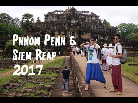 PHNOM PENH & SIEM REAP, Cambodia Travel Video 2017