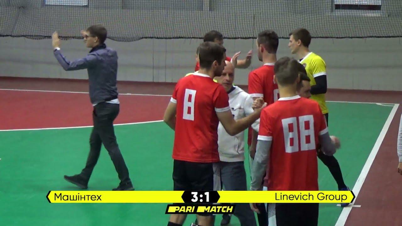 Огляд матчу | Машінтех 3 : 1 Linevich Group