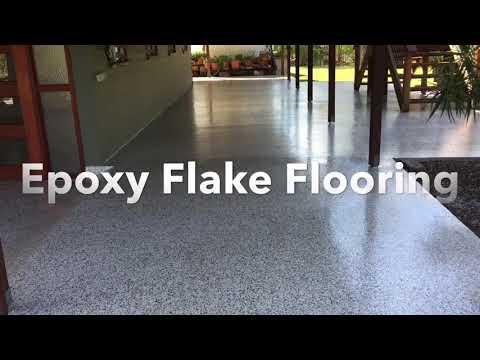 Epoxy Flake Floors Sunshine Coast