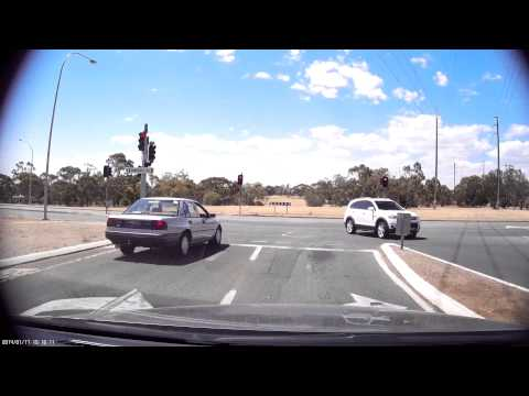 Adelaide red light running