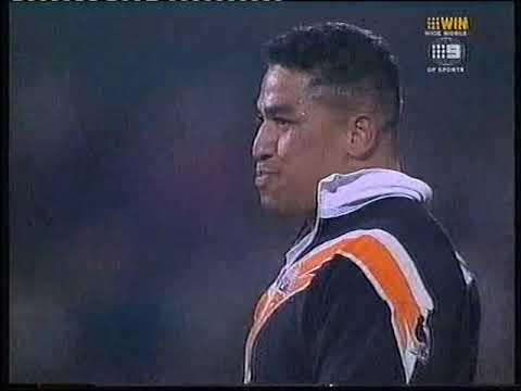 Wests Tigers vs St george Illawara Dragons - FIGHTS!!!! 2000