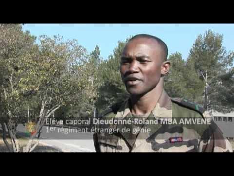 Stage de formation caporal F2 au 1e Régiment étranger