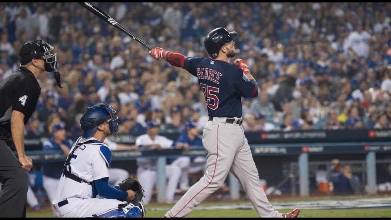 Boston Red Sox Vs La Dodgers World Series Game 4