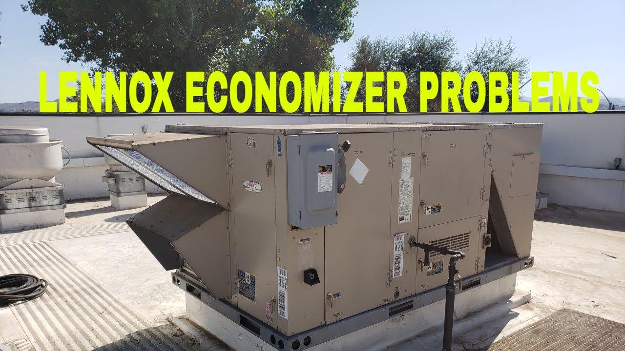 Lennox Package unit economizer