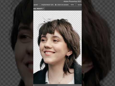 Eliminar el fondo de una imagen en Photoshop - Español #Shorts #photoshop