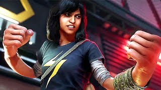 "MARVEL'S AVENGERS ""Kamala Khan"" Bande Annonce Gameplay (2020) PS4 / Xbox One / PC"