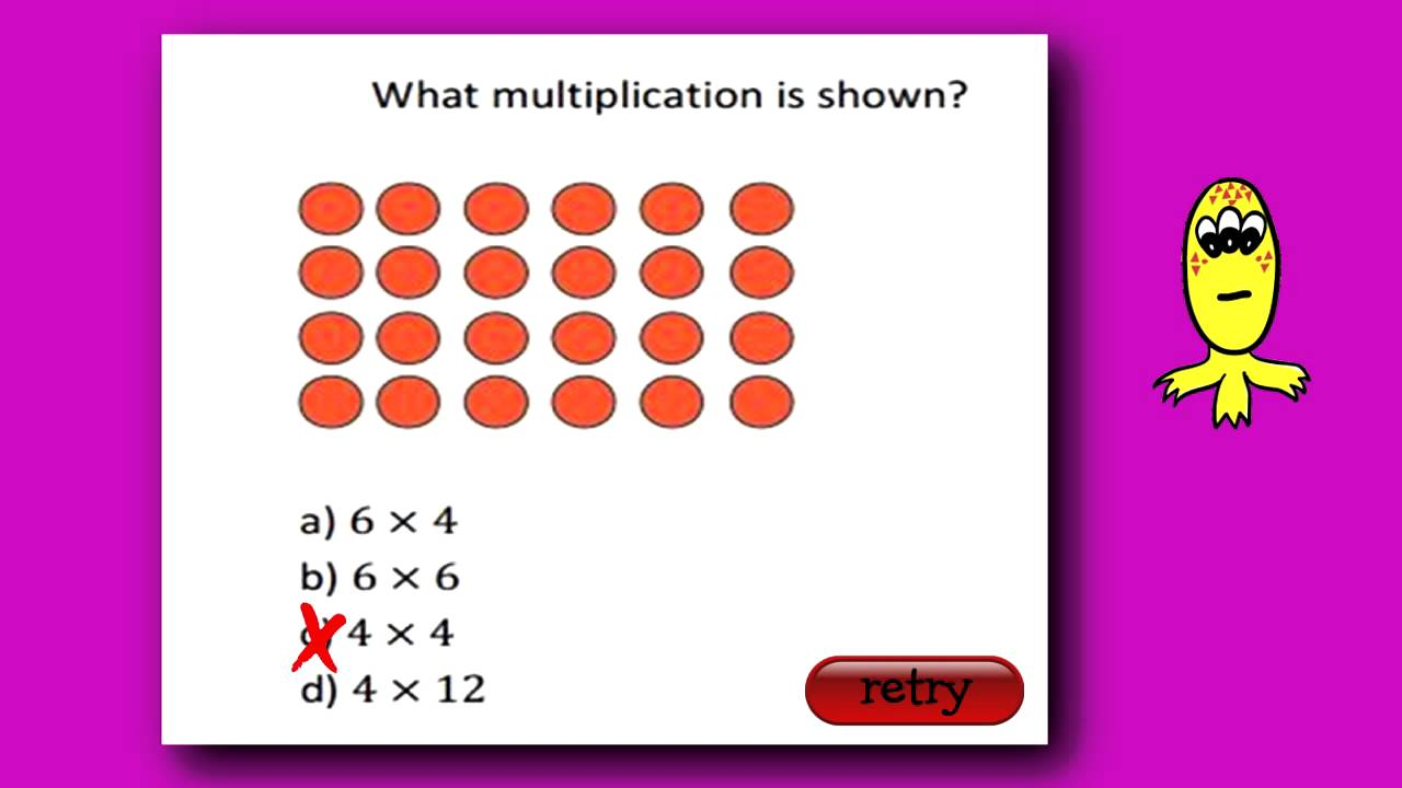 Interactive Practice Question for ITBS ® Second Grade Level - YouTube