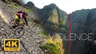 VIOLENCE - Peut-on descendre ça à VTT ?