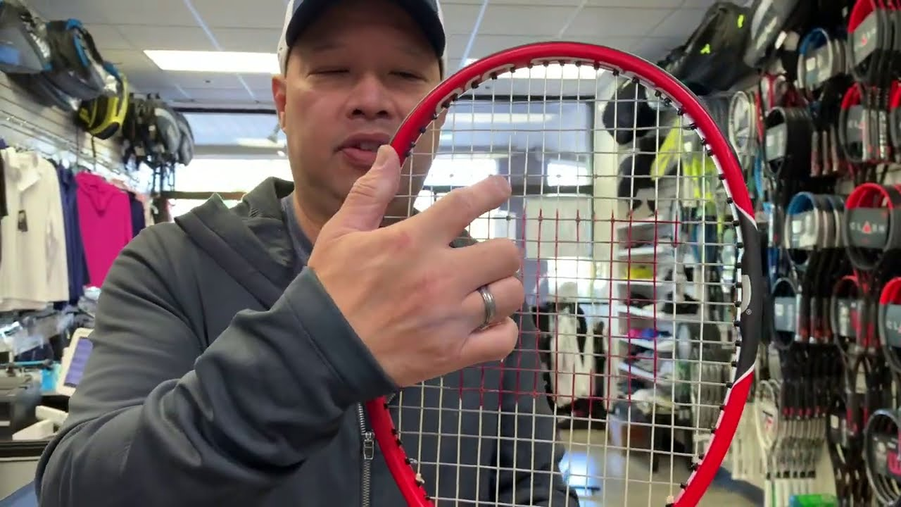 PLAYING WITH RECREATED ROGER FEDERER'S PROSTAFF