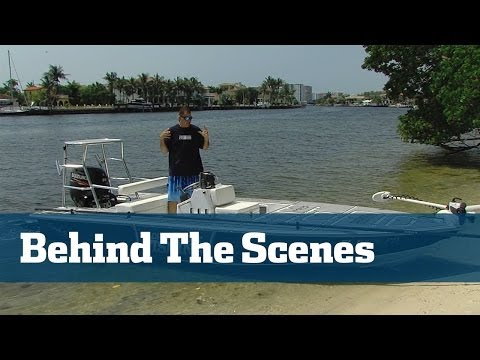 Behind The Scenes On The Boats - Florida Sport Fishing TV