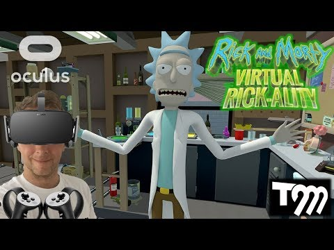 Rick and Morty: VIRTUAL RICK-ALITY VR Gameplay (Oculus Rift VR + Touch Gameplay)