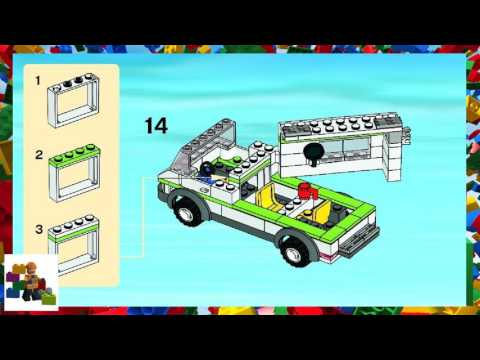 Lego Camping Trailer Instructions