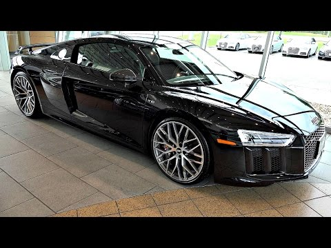 Audi R8 V10 Plus - Mamba Black an Audi Exclusive Color - in 4K Ultra HD
