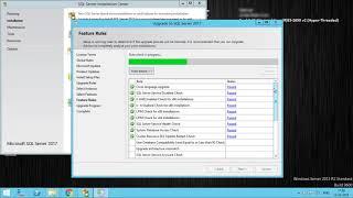 Upgrading to Microsoft SQL Server 2017