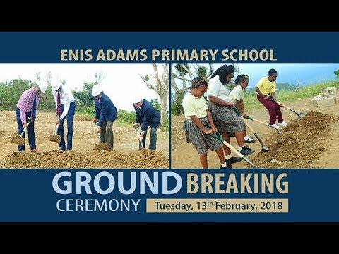 Enis Adams Primary School Ground Breaking Ceremony