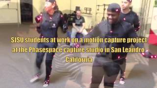 Phasespace and San Jose State University Summer Motion Capture Course