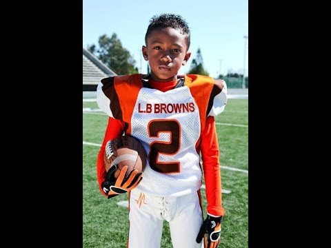 8 Year Old Anthony Robinson - 2011 Football Highlights