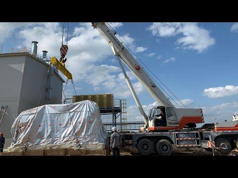 Работаем на газа компрессорной станции , автокраном Zoomlion 50 тонн