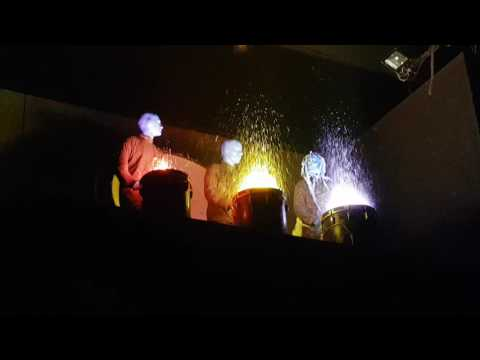 Blue Man Group Finale Berlin (Super Funny :D)