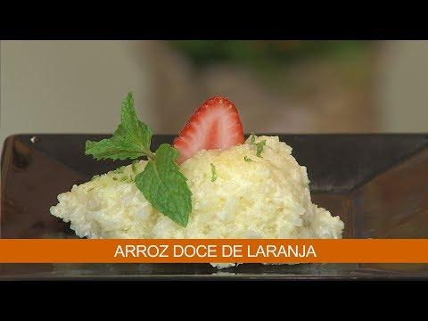 ARROZ DOCE DE LARANJA E QUICHE DE BATATAS