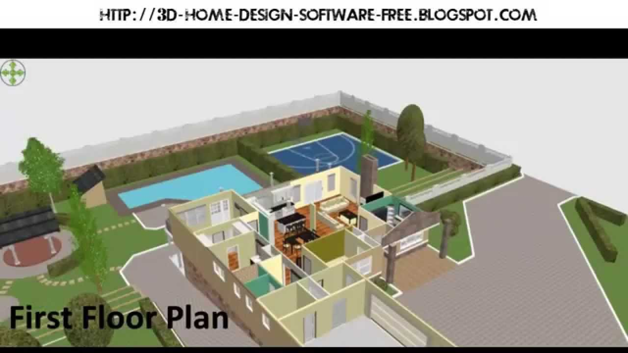 Best 3d home design software for win xp 7 8 mac os linux free download youtube for Home architect design software free download