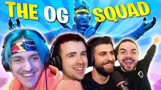 THE OG SQUAD RETURNS!!! - Fortnite W/ CouRage, SypherPk & DrLupo