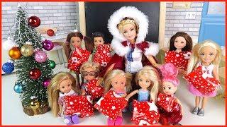 НОВОГОДНИЙ СЮРПРИЗ И ПОДАРКИ!!! Мультик #Барби Про Школу  Школьные истории Играем в Куклы