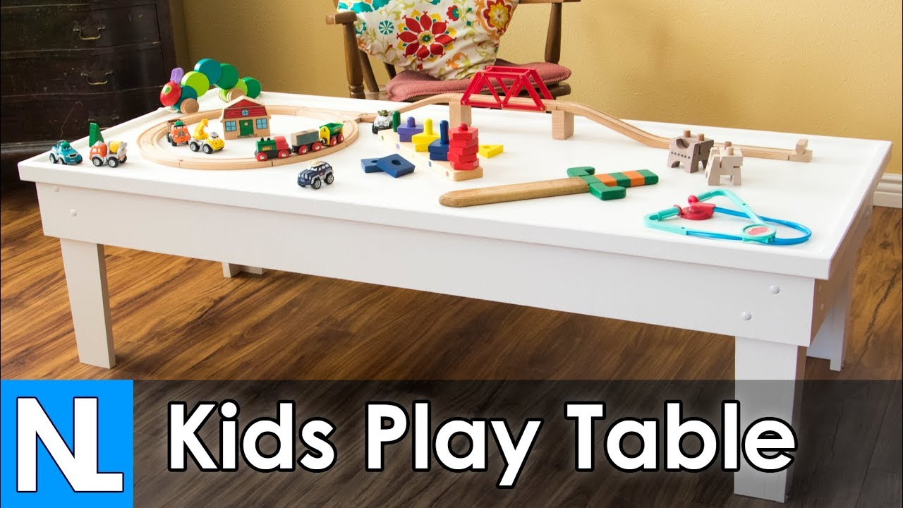 Kids Play Table Diy Woodworking You
