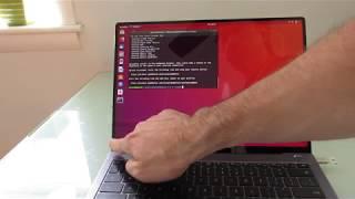 Huawei MateBook X Pro with Ubuntu 18.04 Linux