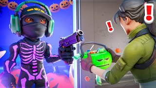 TRICK OR TREAT in FORTNITE...