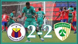 ⚽ Deportivo Pasto 2 - 2 La Equidad ⭐ 𝐋𝐈𝐆𝐀 𝐁𝐄𝐓𝐏𝐋𝐀𝐘 🏆 LIGA COLOMBIANA