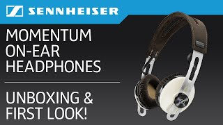 Sennheiser Momentum 2.0 On-Ear Headphones Unboxing & First Impressions! (Ivory)