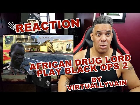 African Drug Lord Plays Black Ops 2 - Episode 2 REACTION!!!