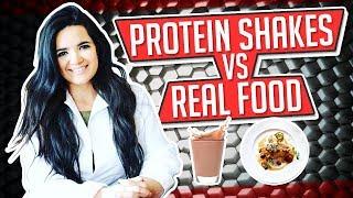 PROTEIN SHAKES VS REAL FOOD │ Gauge Girl Training