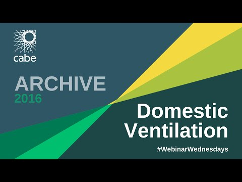 Domestic Ventilation Webinar