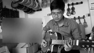 Guitar cổ nhạc cần thơ-trích đoạn Lý cái mơn