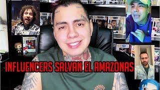 INFLUENCERS SALVAN EL AMAZONAS