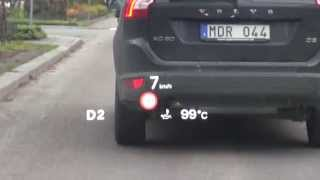 Heads-up display Audi RS7