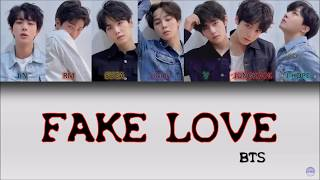 BTS (방탄소년단) - FAKE LOVE German Lyrics [Han/Rom/Ger]