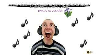 Hvala za Vijolice (Acapella cover by Andi)