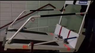 Обучение правильной эксплуатации гусеничный мобильный подъемник по лестничному маршу для инвалидов P